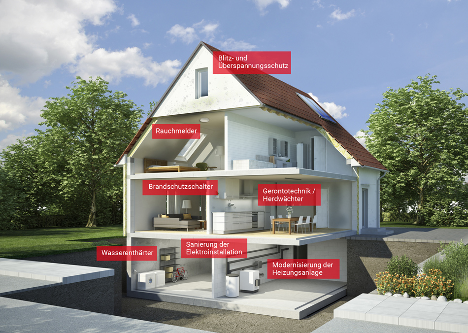 sanierung renovierung elektro a mann elektrotechnik. Black Bedroom Furniture Sets. Home Design Ideas